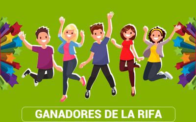 RIFA: Ganadores Febrero 2020