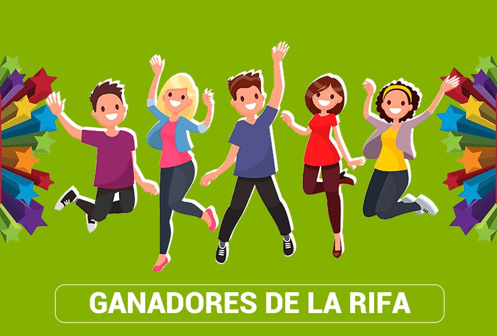 RIFA: Ganadores Julio