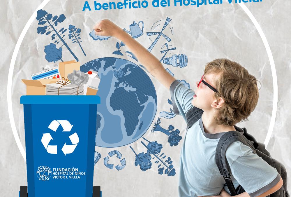 Tu papel ayuda al Hospital y al medio ambiente